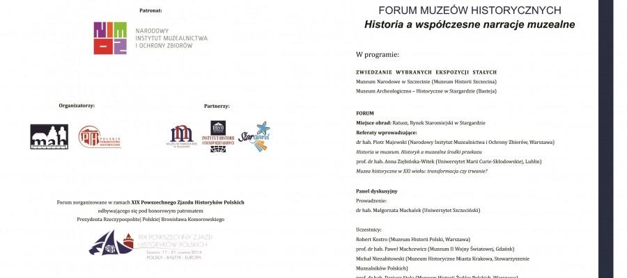 Historia a współczesne narracje muzealne