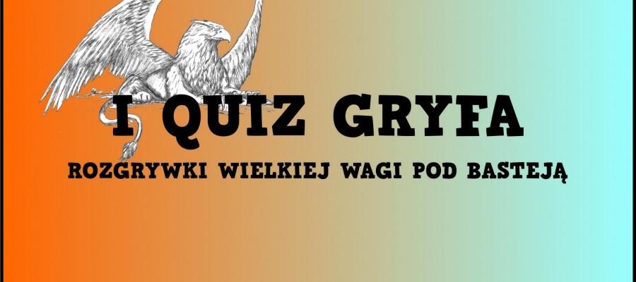 I Quiz Gryfa