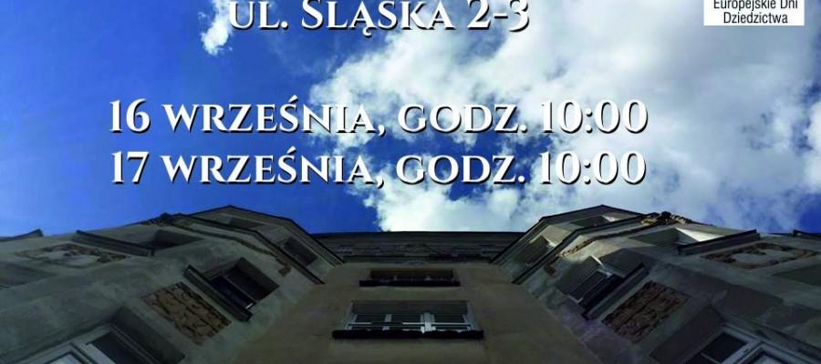Tajemnice kamienicy: Śląska 2-3
