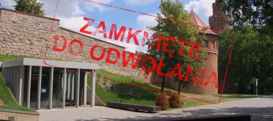 Informacja o zamknięciu wystawy w Bastei