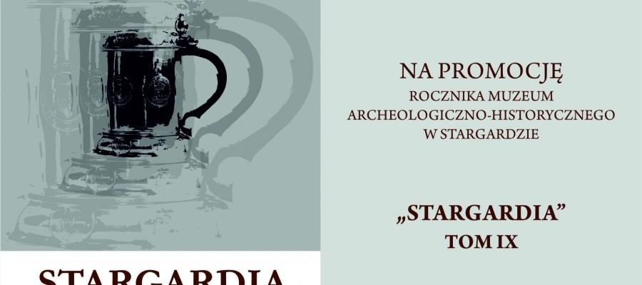 Zaproszenie na promocję IX tomu Stargardii